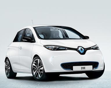 La Renault Zoe  est équipée de pneus écologiques Michelin Energy E-V